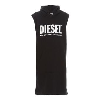 material Girl Short Dresses Diesel DILSET Black