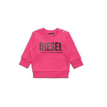 material Girl sweaters Diesel SCREWDIVISION LOGOB Pink