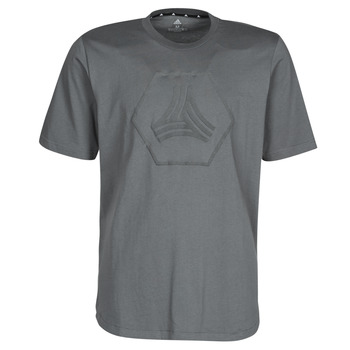 material Men short-sleeved t-shirts adidas Performance TAN LOGO TEE Grey