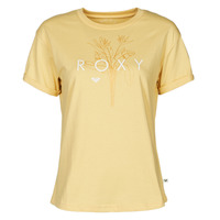 material Women short-sleeved t-shirts Roxy EPIC AFTERNOON CORPO Yellow