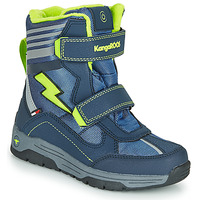 Shoes Boy Snow boots Kangaroos Snow Flash Boys SL RTX Blue / Green