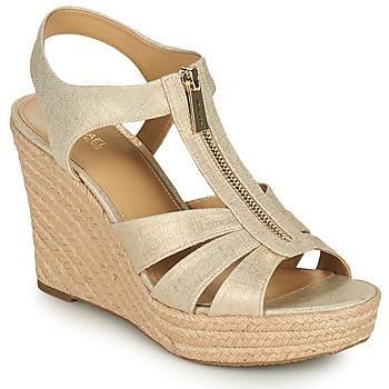 Shoes Women Sandals MICHAEL Michael Kors BERKLEY WEDGE Gold