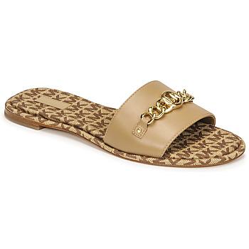 Shoes Women Mules MICHAEL Michael Kors RINA SLIDE Camel