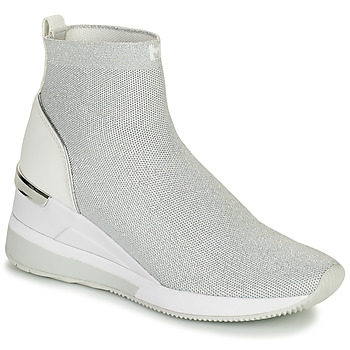 Shoes Women High top trainers MICHAEL Michael Kors SKYLER BOOTIE Silver