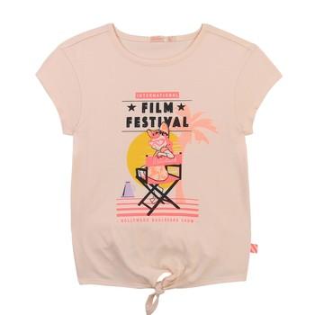 material Girl short-sleeved t-shirts Billieblush / Billybandit U15852-44F Pink