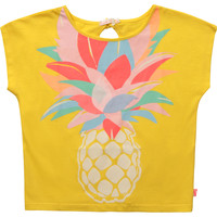 material Girl short-sleeved t-shirts Billieblush / Billybandit U15873-548 Yellow
