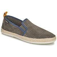 Shoes Men Espadrilles Bamba By Victoria ANDRE ELASTICOS ANTELIN Grey