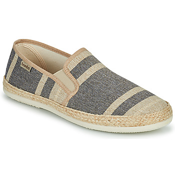 Shoes Men Espadrilles Bamba By Victoria ANDRE ELASTICOS RAYAS Blue