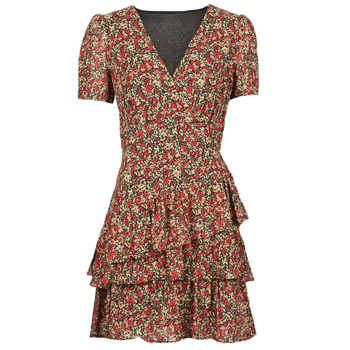 material Women Short Dresses Moony Mood  Red