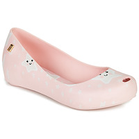 Shoes Girl Sandals Melissa MEL ULTRAGIRL SWEET DREAMS Pink / White