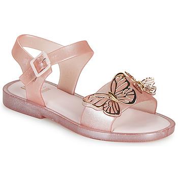 Shoes Girl Sandals Melissa MEL MAR SANDAL FLY Pink / Gold