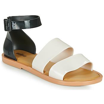 Shoes Women Sandals Melissa MELISSA MODEL SANDAL White / Black
