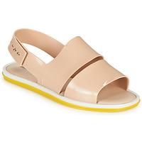 Shoes Women Sandals Melissa CARBON Beige / Yellow
