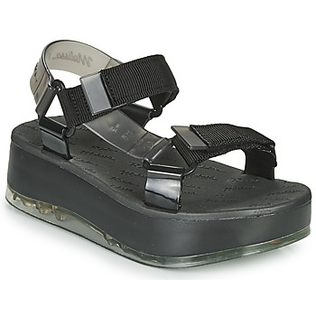 Shoes Women Sandals Melissa PAPETE PLATFORM + RIDER Black / Grey