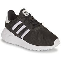 Shoes Children Low top trainers adidas Originals LA TRAINER LITE EL I Black / White