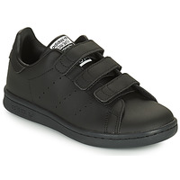 Shoes Children Low top trainers adidas Originals STAN SMITH CF C SUSTAINABLE Black