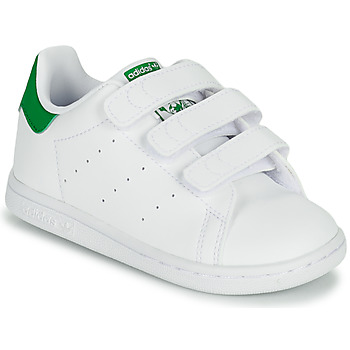 Shoes Children Low top trainers adidas Originals STAN SMITH CF I SUSTAINABLE White / Green