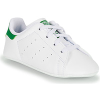 Shoes Children Low top trainers adidas Originals STAN SMITH CRIB SUSTAINABLE White / Green