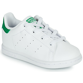 Shoes Children Low top trainers adidas Originals STAN SMITH EL I SUSTAINABLE White / Green