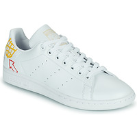 Shoes Women Low top trainers adidas Originals STAN SMITH W SUSTAINABLE White / Multicolour