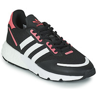 Shoes Women Low top trainers adidas Originals ZX 1K BOOST W Black / Pink