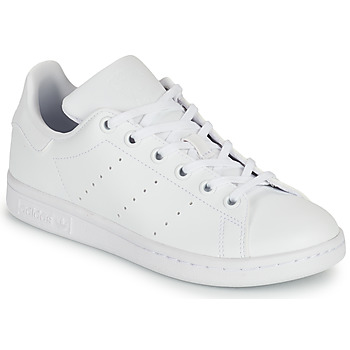 Shoes Children Low top trainers adidas Originals STAN SMITH J SUSTAINABLE White