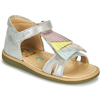 Shoes Girl Sandals Shoo Pom TITY FALLS Silver