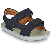 Shoes Boy Sandals Shoo Pom GOA BOY SCRATCH Blue