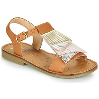 Shoes Girl Sandals Shoo Pom HAPPY FALLS Brown