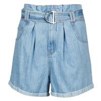 material Women Shorts / Bermudas Betty London ODILON Blue / Medium