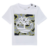 material Boy short-sleeved t-shirts Timberland PIRROW White