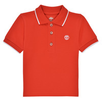 material Boy short-sleeved polo shirts Timberland HOUTI Red