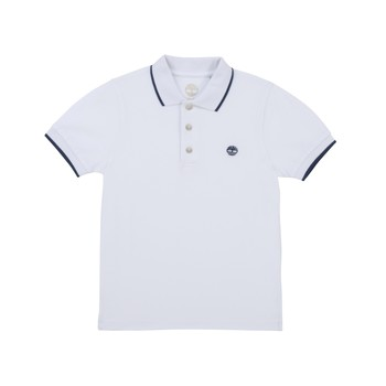 material Boy short-sleeved polo shirts Timberland COLLA White