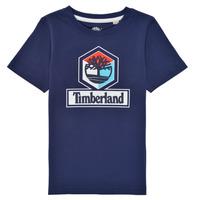 material Boy short-sleeved t-shirts Timberland GRISS Marine