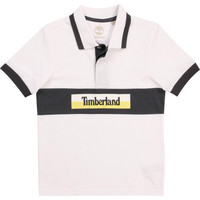 material Boy short-sleeved polo shirts Timberland DOTTO White