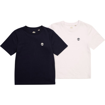 material Boy short-sleeved t-shirts Timberland FONNO Multicolour