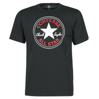 material Men short-sleeved t-shirts Converse NOVA CHUCK PATCH TEE Black