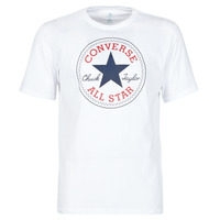 material Men short-sleeved t-shirts Converse NOVA CHUCK PATCH TEE White