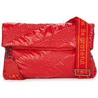 Bags Women Shoulder bags Desigual BOLS_TAIPEI MIAMI Red / Strawberry