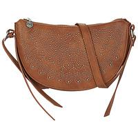 Bags Women Shoulder bags Desigual BOLS_TACHAS KIAMA MINI Brown