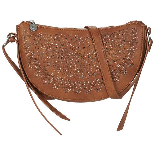 Bags Women Shoulder bags Desigual BOLS_TACHAS KIAMA MINI Crudo / Beige