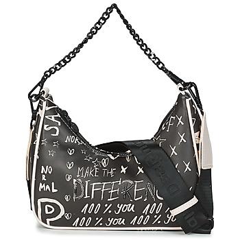 Bags Women Shoulder bags Desigual BOLS_HANSMADE MEDLEY Black