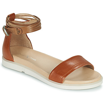 Shoes Women Sandals Dream in Green IRVANI Brown