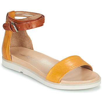 Shoes Women Sandals Dream in Green IRVANI Yellow