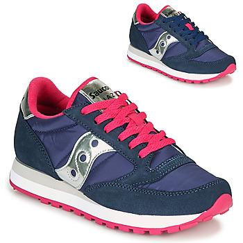 Shoes Women Low top trainers Saucony JAZZ ORIGINAL Blue / Pink