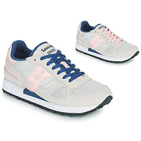 Shoes Women Low top trainers Saucony SHADOW ORIGINAL Grey / Pink / Blue