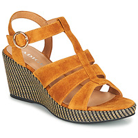 Shoes Women Sandals Adige FLORY V4 UNDER SAFRAN Yellow