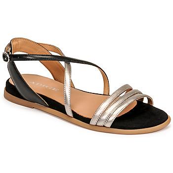 Shoes Women Sandals Adige IDIL V2 CENTURY ACERO Silver