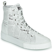Shoes Men High top trainers John Galliano MIREILLE White