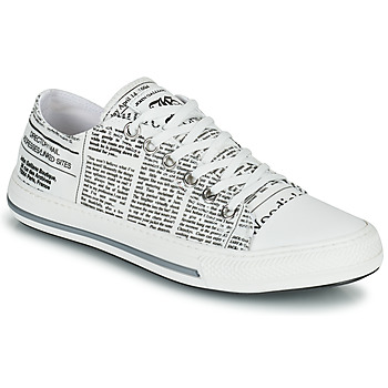 Shoes Women Low top trainers John Galliano SIMONE White